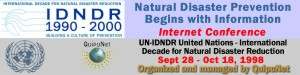 International conference of IDNDR